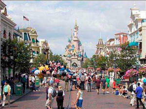 Perspective-Disney Land